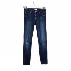 Mother Jeans 24 The Looker Ankle Fray